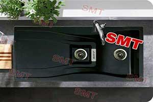سینک ظرفشویی آشپزخانه گرانیتی SMT
